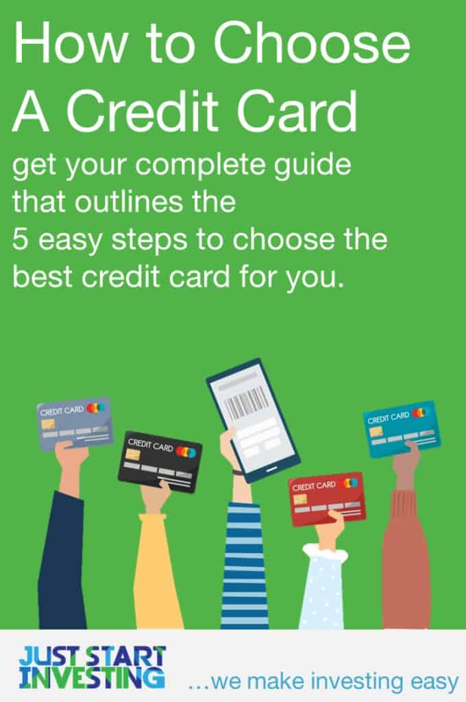 How to Choose a Credit Card - Pinterest