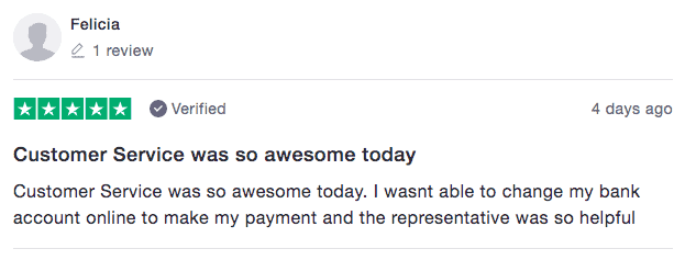 Fit Mastercard Reviews - Positive 1