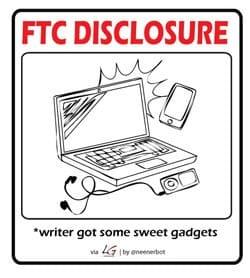 FTC Disclosure - Gadgets