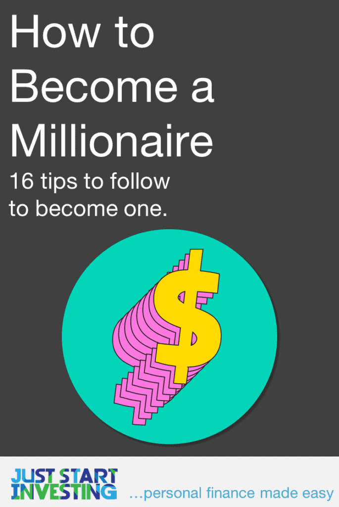 How to Become a Millionaire - Pinterest