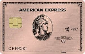 American Express Gold Card - Best Annual Fee Credit Cards